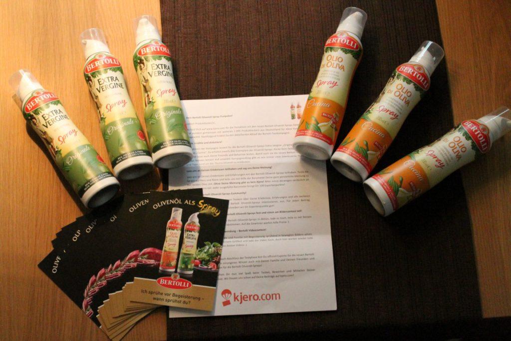 Bertolli: praktisches Olivenöl Spray