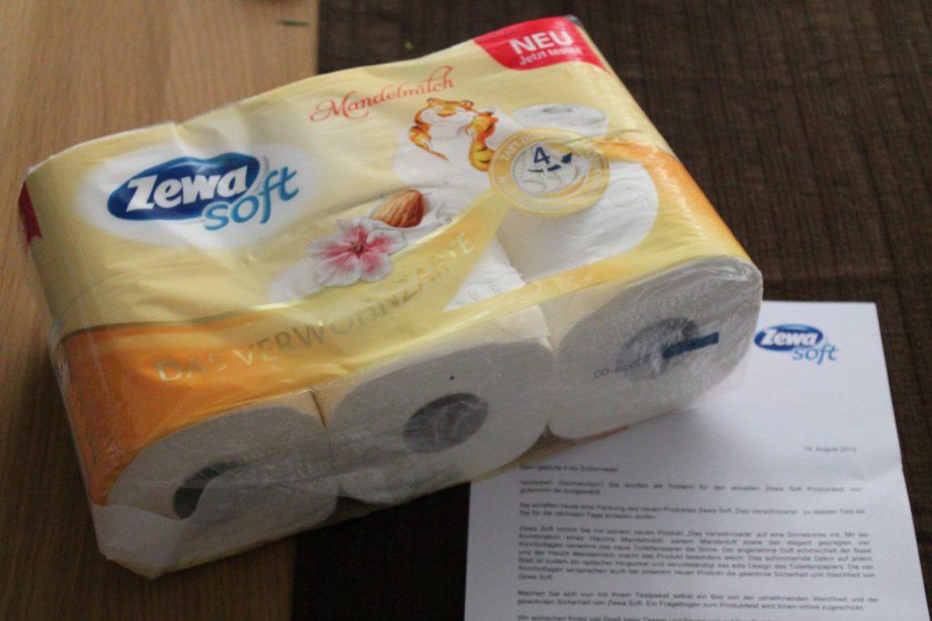 Zewa Soft: Das Verwöhnzarte mit Mandelmilch