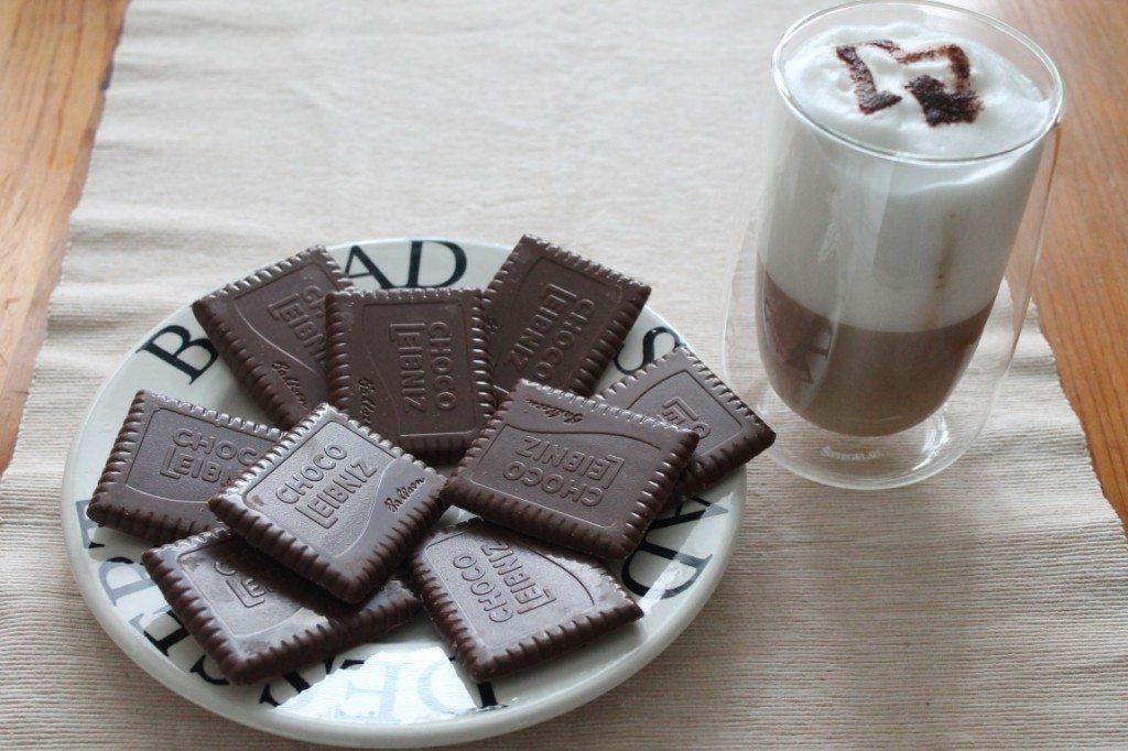 Kaffeepause mit Leibniz Choco Caramel