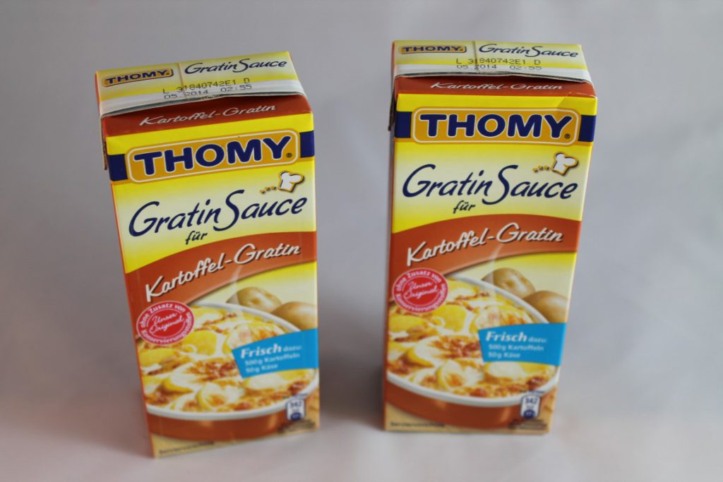 Thomy Gratin Saucen Im Test