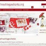 Weihnachtsgeschenke.org vorgestellt