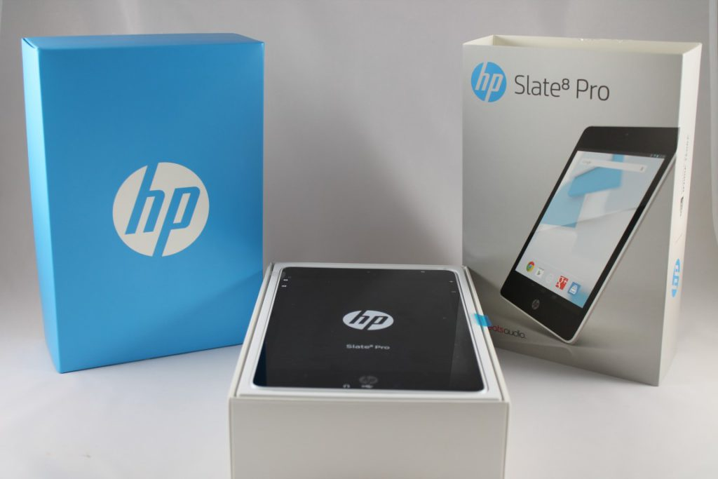 HP Slate 8 Pro Unboxing