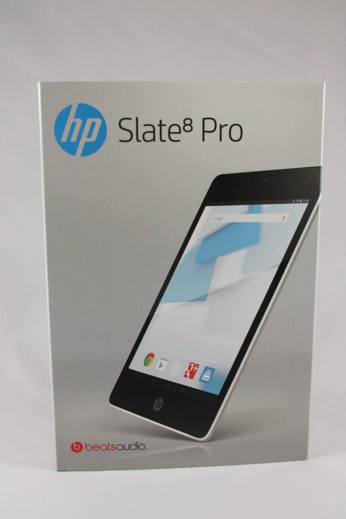 HP Slate 8 Pro Unboxing