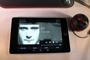 Musik mit dem HP Slate 8 Pro (7)