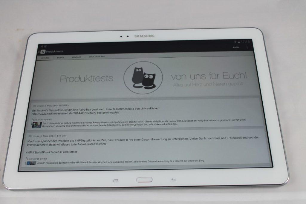 Samsung GALAXY NotePRO 12.2 im Test