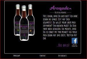 Aronade Website