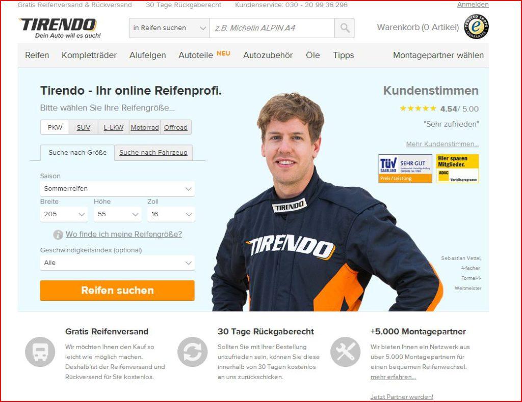 Tirendo.de vorgestellt