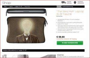 Caseable Laptoptasche