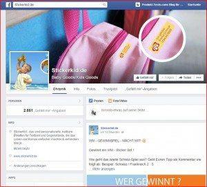 StickerKid FB-Seite
