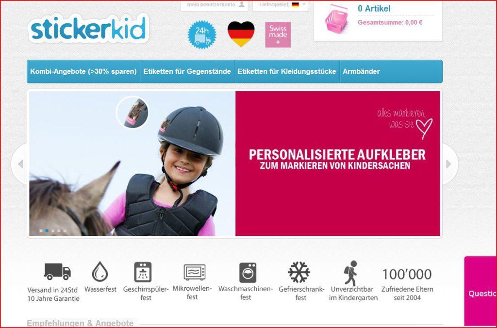 StickerKid vorgestellt