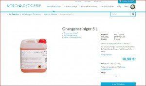 KoRo Drogerie Produktbeschreibung