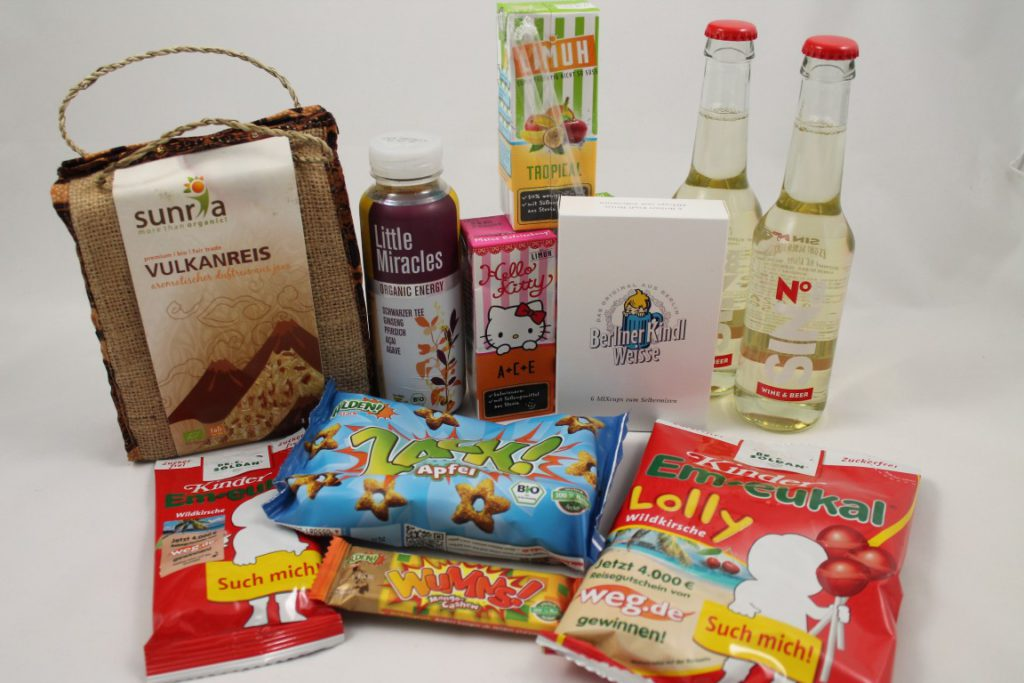 Degustabox August vorgestellt