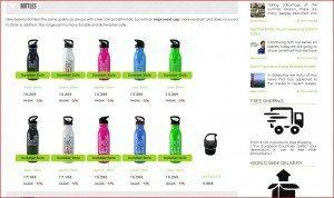 Greenyway Shop Bottles