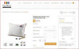 My Pillow Factory Produktbeschreibung 1