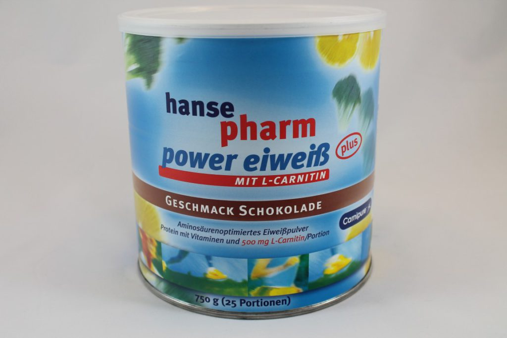 hansepharm Power Eiweiß plus im Test