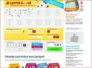 Lottohelden Spielschein