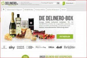 Delinero Box Startseite