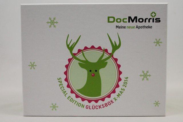 DocMorris Glücksbox X-Mas Edition vorgestellt