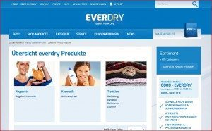 EVERDRY Website