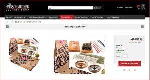Der Feinschmecker Gourmet Shop Produktbeschreibung