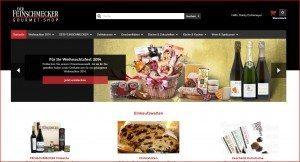 Der Feinschmecker Gourmet Shop Startseite