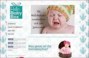 HelloBabyBox Startseite