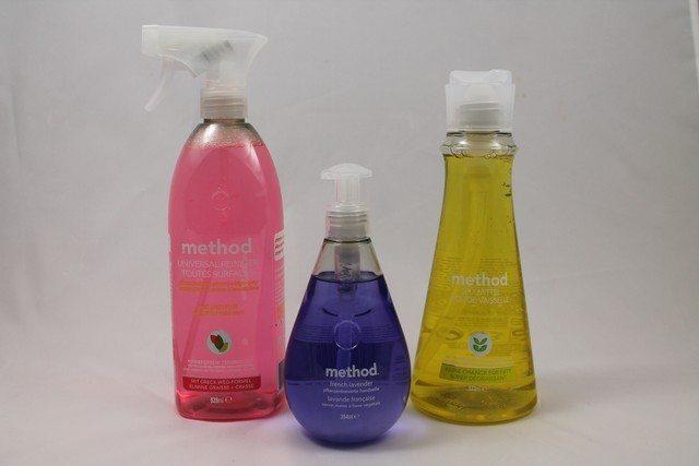 method Reinigungsmittel im Test