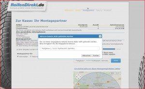 ReifenDirekt.de Lieferung an Montagepartner