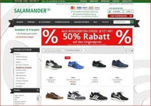 SALAMANDER Onlineshop Sneaker
