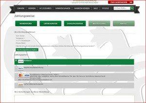 SALAMANDER Onlineshop Zahlungsarten 2