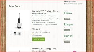 Apfeldental Produktbeschreibung Zahnbürste