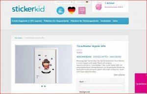 StickerKid Türaufkleber Produktbeschreibung
