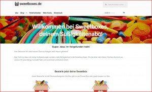 Sweetboxes Startseite