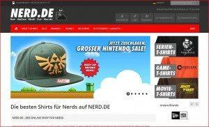 Nerd.de Startseite