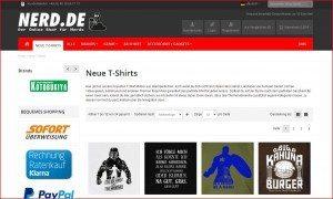 Nerds.de Neue Shirts