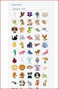 StickerKid Namensetiketten Logos