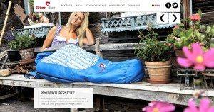 Grüezi Bag Website