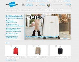 Koffermarkt.com Startseite