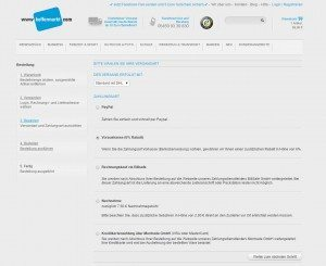 Koffermarkt.com Zahlungsarten
