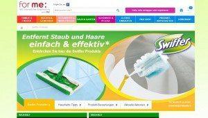 Swiffer Website
