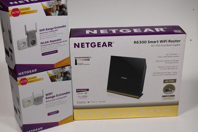 NETGEAR R6300v2 Router & WiFi Extender im Test