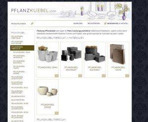 Pflanzkuebel.com Unterkategorien