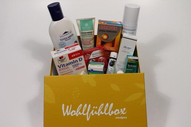 medpex Wohlfühlbox September 2015 vorgestellt