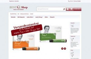Best 1 Shop Startseite