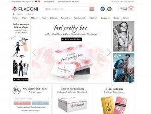 Flaconi.de Startseite