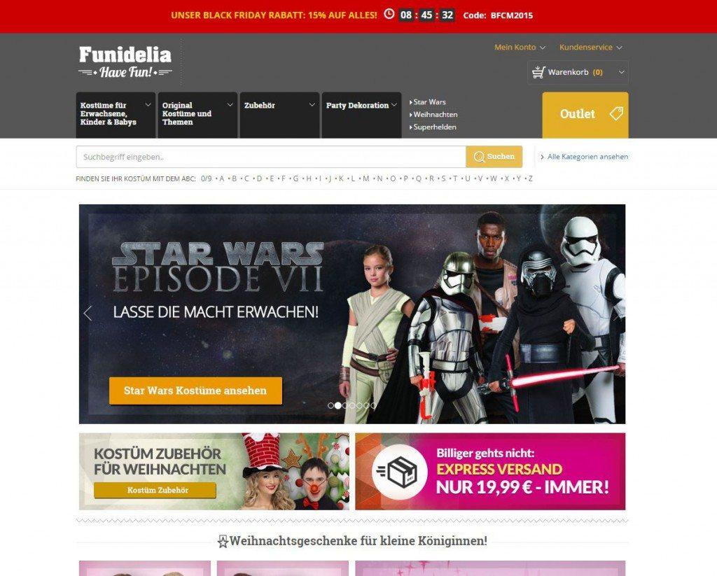 Funidelia Startseite