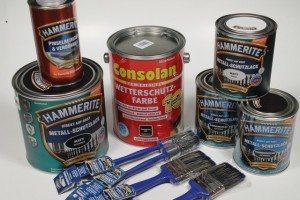 HAMMERITE & Consolan Lacke (12)