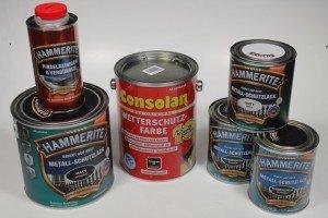 HAMMERITE & Consolan Lacke (9)