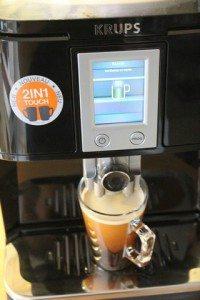 KRUPS 2in1 Touch Kaffeevollautomat EA8808 (60)