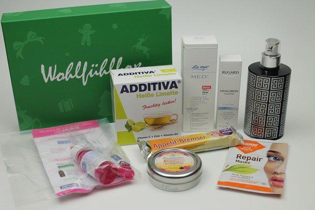 Wohlfühlbox Dezember 2015 vorgestellt